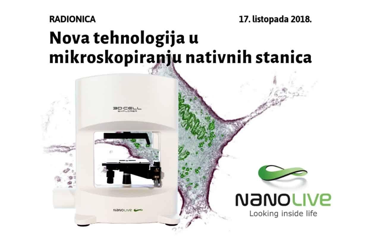 RADIONICA: Nova tehnologija u mikroskopiranju nativnih stanica